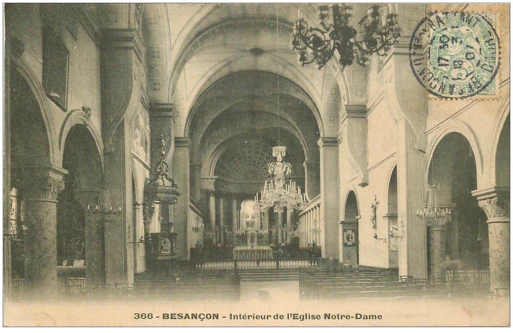 25 besancon eglise notre dame 1907 for 25 besancon