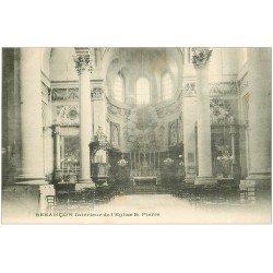 carte postale ancienne 25 BESANCON. Eglise Saint-Pierre vers 1900