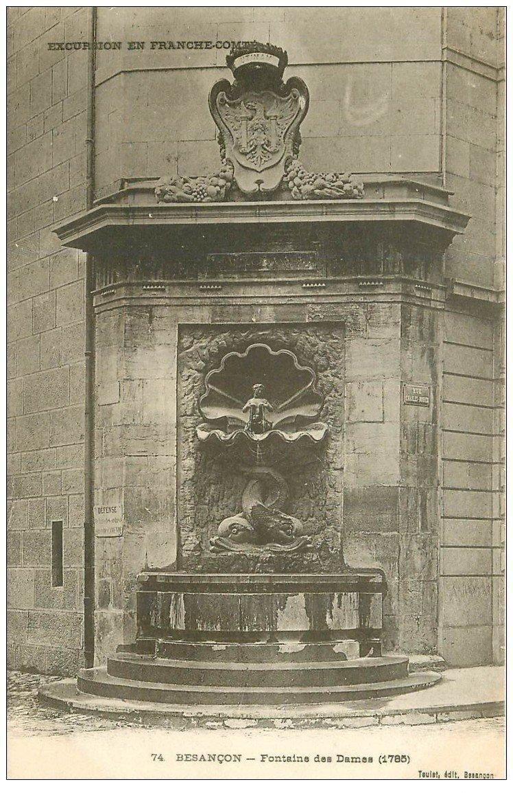 25 besancon fontaine des dames for 25 besancon