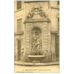 carte postale ancienne 25 BESANCON. Fontaine Ronchaux