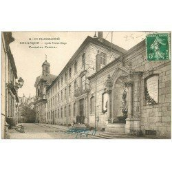 carte postale ancienne 25 BESANCON. Lycée Victor Hugo 1919