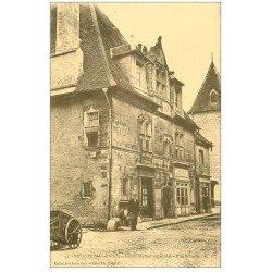 carte postale ancienne 25 BESANCON. Maison espagnole Rue Rivotte. Hôtel Frachebois et Boulangerie Renaud