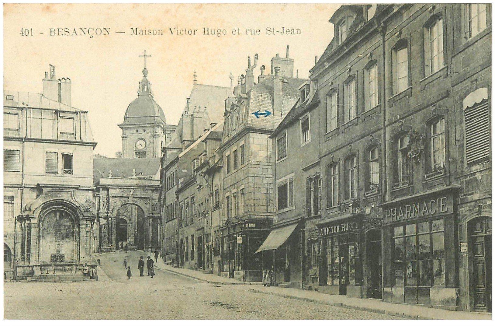 25 besancon maison victor hugo rue saint jean pharmacie for 25 besancon