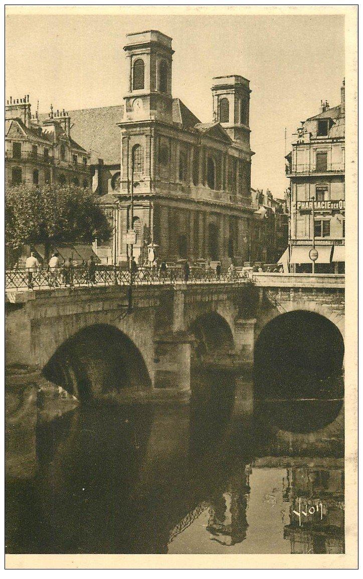 25 besancon pont battant et eglise de la madeleine ed yvon for 25 besancon