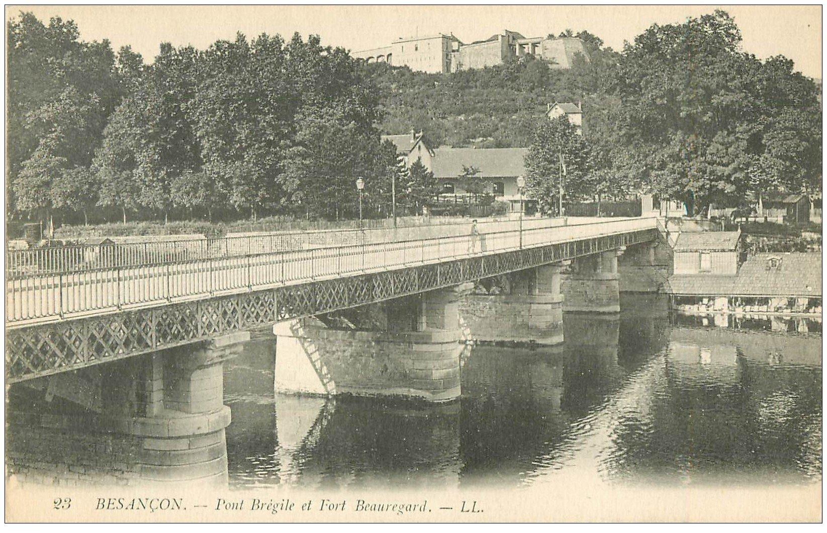 25 besancon pont br gile et fort beauregard for 25 besancon