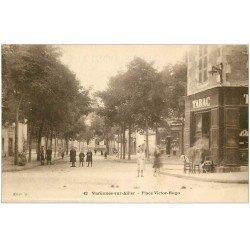 carte postale ancienne 03 VARENNES-sur-ALLIER. Tabac Place Victor-Hugo
