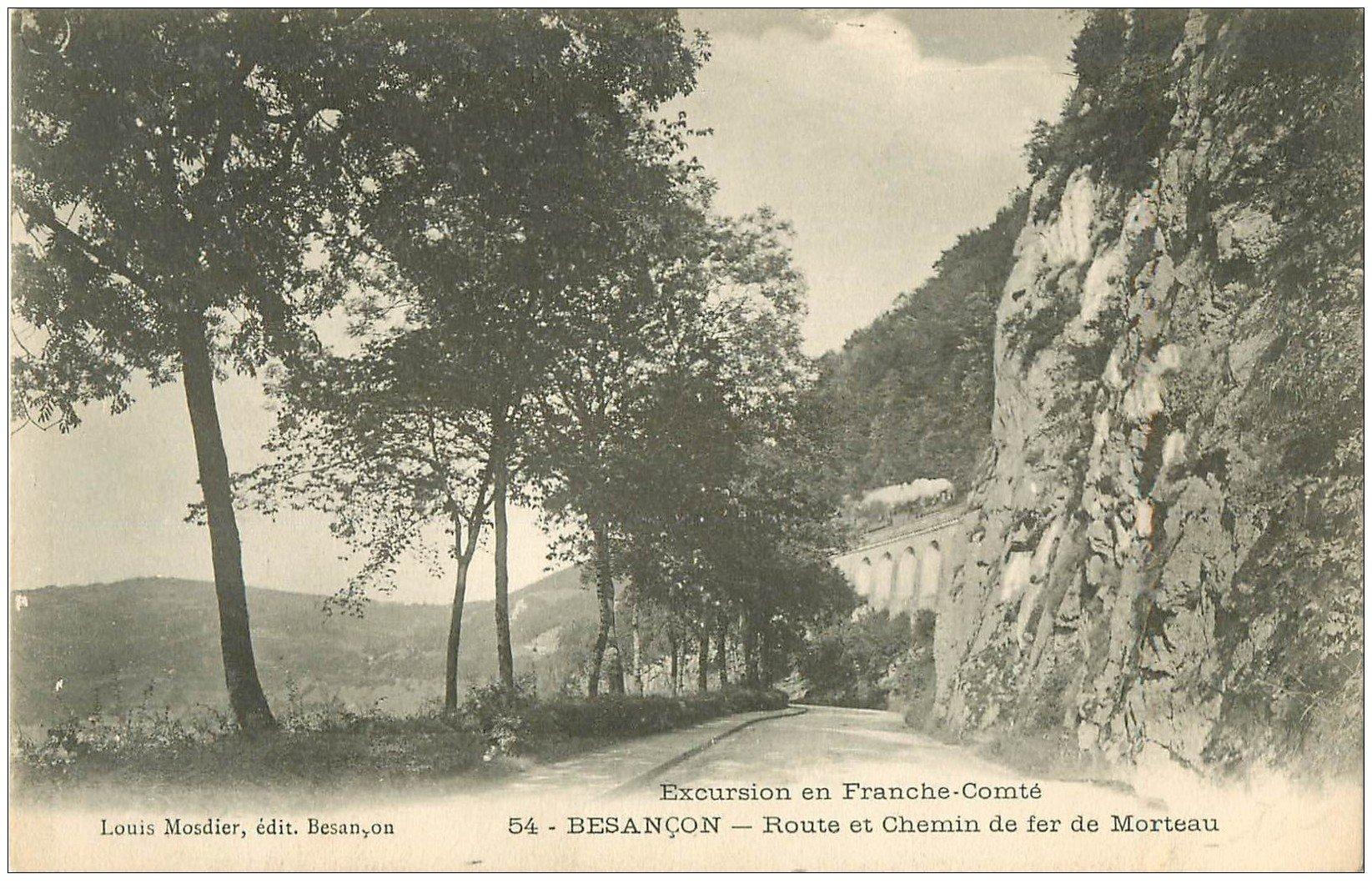 25 besancon route et chemin de fer de morteau 1931 for 25 besancon
