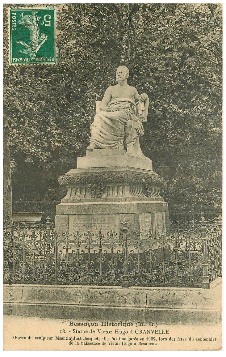 25 besancon statue de victor hugo granvelle for 25 besancon
