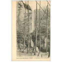 carte postale ancienne 25 BEURE. La Cascade du Bout du Monde
