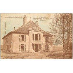 carte postale ancienne 25 CHEVIGNEY-SUR-L'OGNON. Le Château 1914