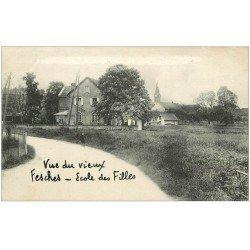 carte postale ancienne 25 FESCHES-LE-CHATEL. Ecole des Filles