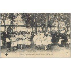 carte postale ancienne 03 VICHY. Bal d'Enfants. La Polka 1906