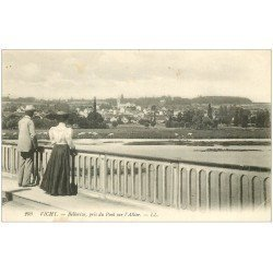 carte postale ancienne 03 VICHY. Bellerive Pont sur l'Allier
