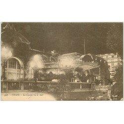 carte postale ancienne 03 VICHY. Casino de nuit 1923 n°328