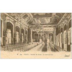 carte postale ancienne 03 VICHY. Casino Salle des Fêtes 1923