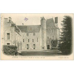 carte postale ancienne 28 AUNEAU. La Château 1905