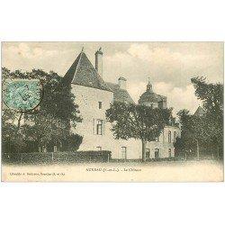carte postale ancienne 28 AUNEAU. Le Château 1905 Ed. Boutrone