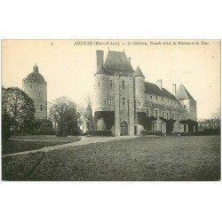 carte postale ancienne 28 AUNEAU. Le Château Poterne de la Tour