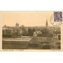 carte postale ancienne 28 AUNEAU. Le Village