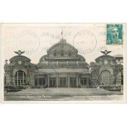 carte postale ancienne 03 VICHY. Casino. Carte Photo 1950