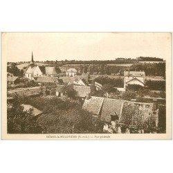 carte postale ancienne 28 BEROU-LA-MULOTIERE. Vue du Village