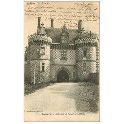 carte postale ancienne 28 BONNEVAL. Abbatiale Ancienne Abbaye 1906