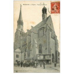 carte postale ancienne 28 BONNEVAL. L'Eglise 1912