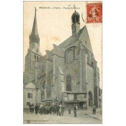 carte postale ancienne 28 BONNEVAL. L'Eglise 1912