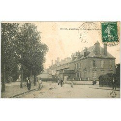 carte postale ancienne 28 CHARTRES. Boulevard Chastes 1909