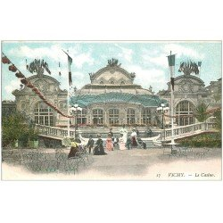 carte postale ancienne 03 VICHY. Casino. n°17