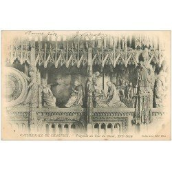 carte postale ancienne 28 CHARTRES. Cathédrale. Tour du Choeur 1904