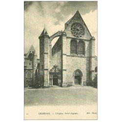 carte postale ancienne 28 CHARTRES. Eglise Saint-Aignan