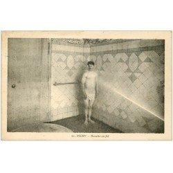 carte postale ancienne 03 VICHY. Douche au Jet 1930