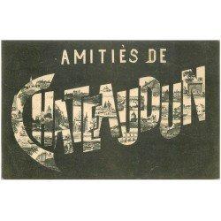 carte postale ancienne 28 CHATEAUDUN. Amitiés 1907