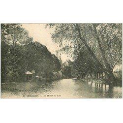 carte postale ancienne 28 CHATEAUDUN. Bords du Loir 1923