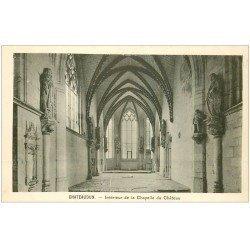 carte postale ancienne 28 CHATEAUDUN. Château Chapelle