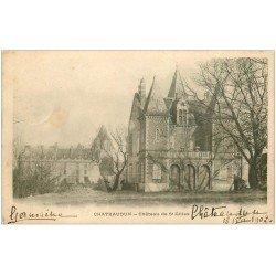 carte postale ancienne 28 CHATEAUDUN. Château de Saint-Gilles 1902