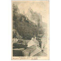 carte postale ancienne 28 CHATEAUDUN. Château descente du Mail 1902