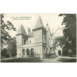 carte postale ancienne 28 CHATEAUDUN. Château Saint-Gilles