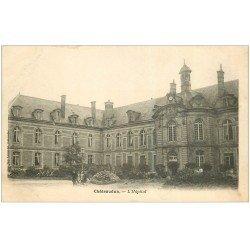 carte postale ancienne 28 CHATEAUDUN. hôpital vers 1900