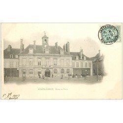 carte postale ancienne 28 CHATEAUDUN. Hôtel de Ville 1903