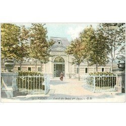 carte postale ancienne 03 VICHY. Entrée des Bains de 2° classe