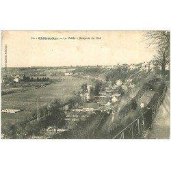 carte postale ancienne 28 CHATEAUDUN. La Vallée descente du Mail 1915