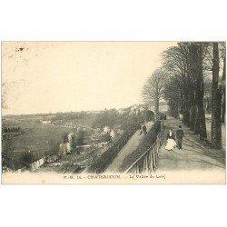 carte postale ancienne 28 CHATEAUDUN. La Vallée du Loir 1938
