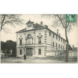 carte postale ancienne 28 CHATEAUDUN. Le Théâtre 1908