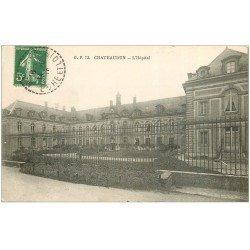 carte postale ancienne 28 CHATEAUDUN. L'Hôpital 1918