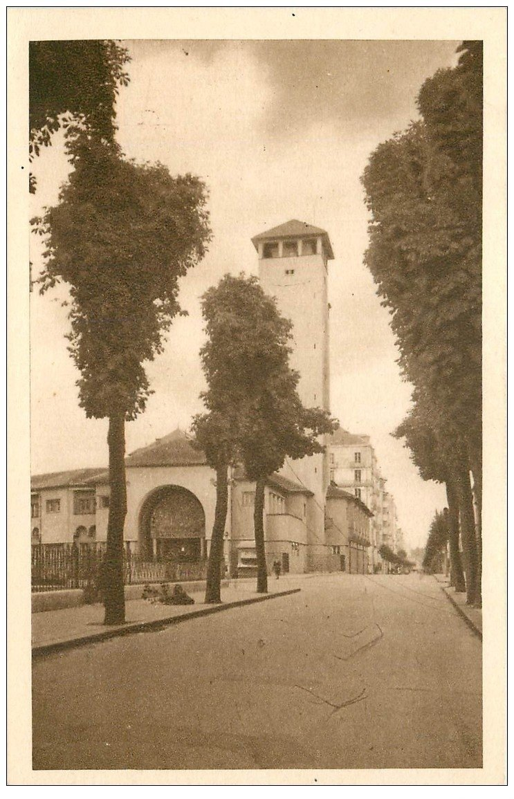 carte postale ancienne 03 VICHY. Etablissement de Bains de 2° classe