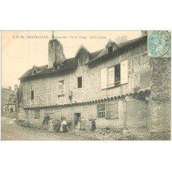 carte postale ancienne 28 CHATEAUDUN. Maison de la Vierge 1905