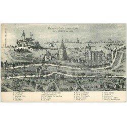 carte postale ancienne 28 DREUX en 1600