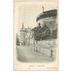 carte postale ancienne 28 DREUX. Ancien Evêché vers 1900